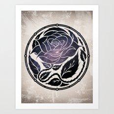 The Rose Medallion Art Print