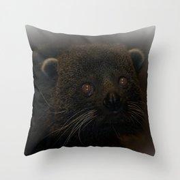 Binturong Portrait Throw Pillow