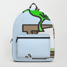 Germinated seed Backpack