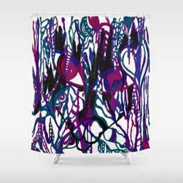 Catastrophe Shower Curtain