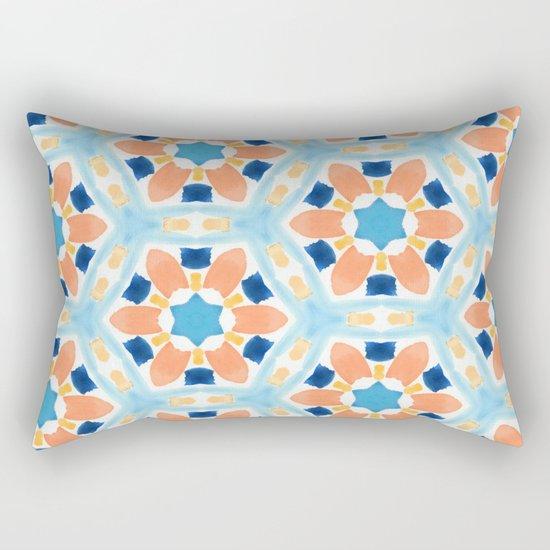 Moroccan Pattern V1 #society6 #decor #buyart Rectangular Pillow