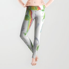 Fantasy Collage Leggings