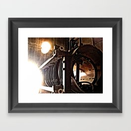 the machine Framed Art Print