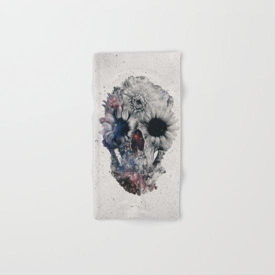 Floral Skull 2 Hand & Bath Towel