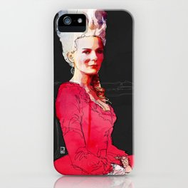 Kirsten Dunst as Marie Antoinette iPhone Case