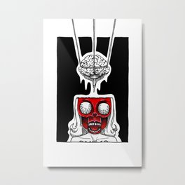 Mind the Mindless Metal Print