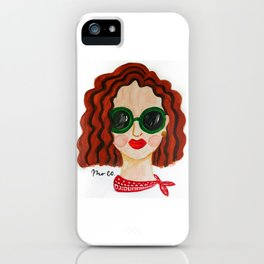 High End Girl iPhone Case