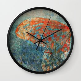 Moths 4 Wall Clock