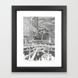 Frackpool 01 Framed Art Print
