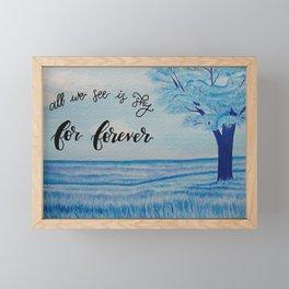 For Forever field Framed Mini Art Print