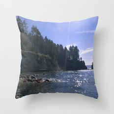 Sunspots Throw Pillow