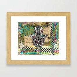 Butterflies Within Framed Art Print