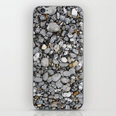 pebbles on the beach iPhone Skin