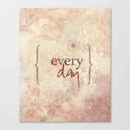 I love you more... every day - 03 (3piece set) Canvas Print