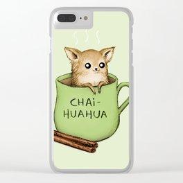 Chaihuahua Clear iPhone Case