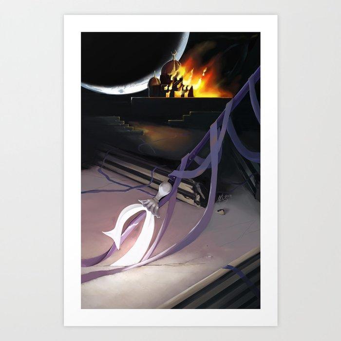 Heavy Metal Sailor Moon Act 2 Cover Art Print