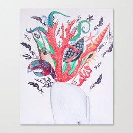 Ocean Arrangements Canvas Print