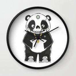 Deadoff Panda Wall Clock