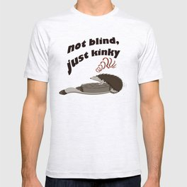 Not blind, just kinky! T-shirt