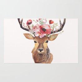 Bohemian Deer Rug