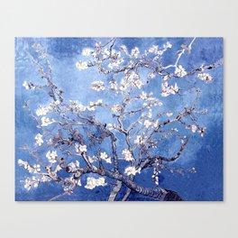 Vincent Van Gogh Almond BlossomS Blue Canvas Print