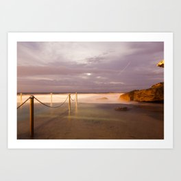 Coogee Long Exposure Art Print