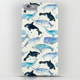 Whales, Orcas & Narwhals iPhone Case