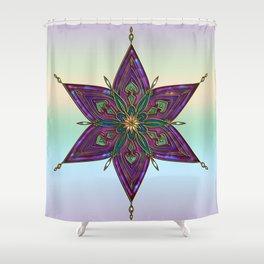 Crest of Kali Shower Curtain