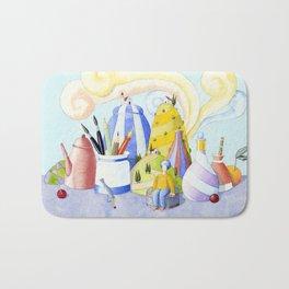 Portable landscape Bath Mat