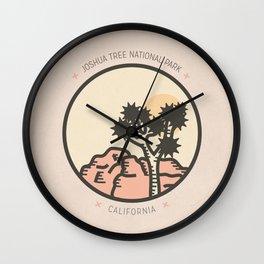 Icons: Joshua Tree One Wall Clock