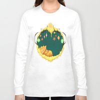 sandman Long Sleeve T-shirts featuring Sandman Circlet by Z Doodle