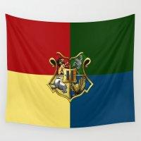 hogwarts Wall Tapestries featuring HOGWARTS - HOGWARTS by alexa