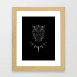 King of T'Chaka ( Black Panther ) Framed Art Print