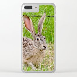 You can't see me... Clear iPhone Case