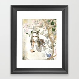 Melody of a Fallen Tree Framed Art Print