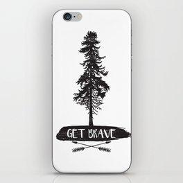 Get Brave iPhone Skin