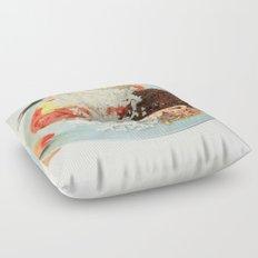 Toothpick Floor Pillow