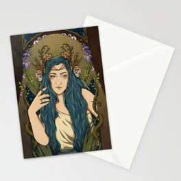 Ninfa / nymph Stationery Cards