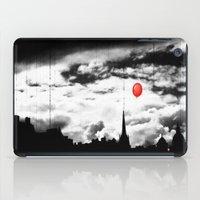 gotham iPad Cases featuring Gotham city by Anna Andretta