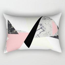 Floating Forms Rectangular Pillow