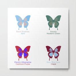 Butterflies 4 Metal Print