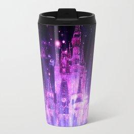Purple Enchanted Castle Travel Mug