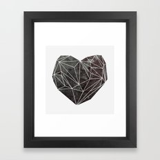 Heart Graphic 4 Framed Art Print