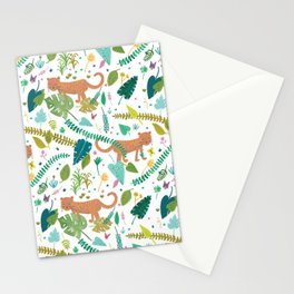 Roar Sweet Tigers in the Jungle Stationery Cards