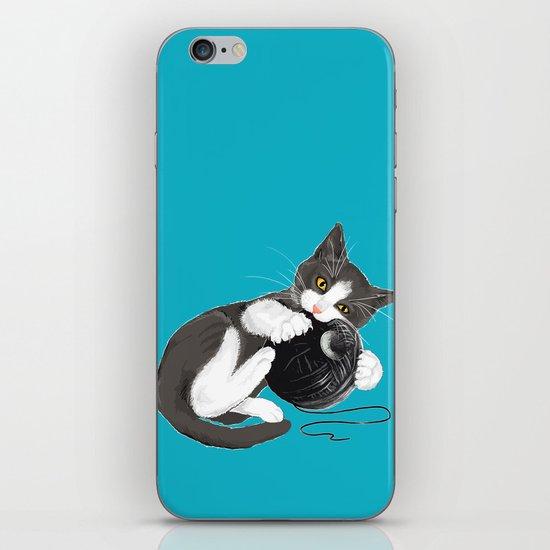 Death Star Kity iPhone & iPod Skin