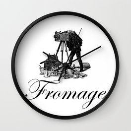 Say Fromage Wall Clock