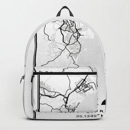 Gibraltar Light City Map Backpack