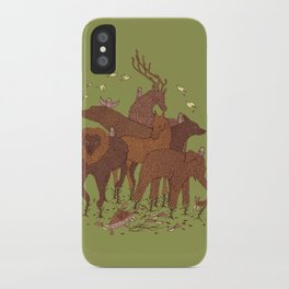 Topiary iPhone Case