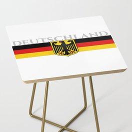 Deutschland ...German Flag and Eagle Side Table