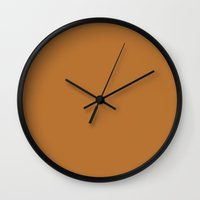 copper Wall Clocks featuring Copper by List of colors